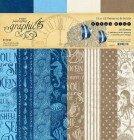 Graphic 45 Ocean Blue Patterns & Solids