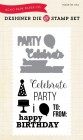 "EP ""Party Time"" Designer Die & Stamp Set"