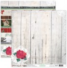 Donna Salazar Weathered Winter Christmas Rose Ribbons