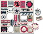 Teresa Collins Sports Edition Die Cut Charms
