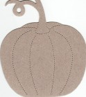 The Chipboard Store Pumpkin
