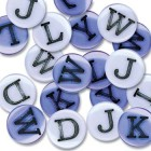 Junkitz Teen Alphabet Buttons