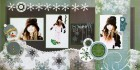Snow Magical Scrapbook Page Kit