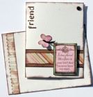 Scraptique A True Friend Card Kit