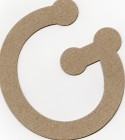 The Chipboard Store Letter G