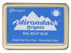 Blue Ink Ranger Adirondack Brights Sailboat Blue