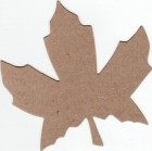The Chipboard Store Maple Leaf