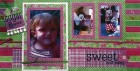 Sweet & Sassy Scrapbook Page Kit