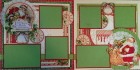 Twas the Night Before Christmas Scrapbook Page Kit