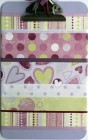 Lavender Clipboard Love Romance Altered Clipboard Kit