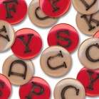 Junkitz Boy Alphabet Buttons