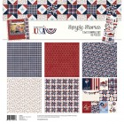 SS Hometown USA 12x12 Simple Set