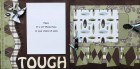 Rough and Tough Scrapbook Page Kit
