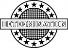 Teresa Collins Sports Edition Determination Stamp