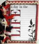 Scraptique A Day In The Life Mini Album Kit