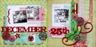 December 25th Scrapbook Page Kit