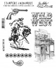 Tim Holtz Wild West Stamp Set