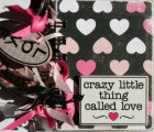 Scraptique Love Album Mini Book Kit