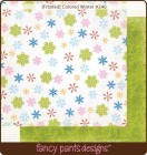 Fancy Pants Designs Frosted Colored Winter