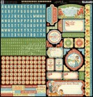 Graphic 45 Home Sweet Home Cardstock Stickers