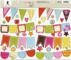 Fancy Pants Beach Babe Chipboard Banners