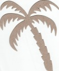 The Chipboard Store Palm Tree