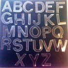 Clear  Acrylique Alphabet Set