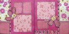 Dazzle Scrapbook Page Kit