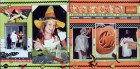 Trick or Treat Scrapbook Page Kit