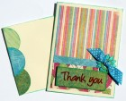 Various Paper Scraptique Thank You Card Kit