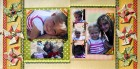 Family Funtime Scrapbook Page Kit