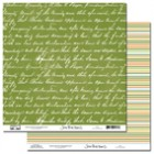 Scenic Route Dark Green Script
