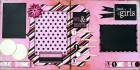 Just The Girls Scrapbook Page Kit