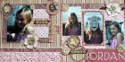 Flower Girl Scrapbook Page Kit
