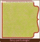 Fancy Pants Designs Frosted Red Green Die Cut
