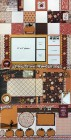 Fall Four Layout Scrapbook Page Kit Set
