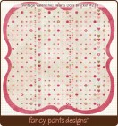 Fancy Pants Designs Vintage Valentine Hearts Dots