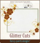 Fancy Pants Designs Glitter Cuts Autumn Frame