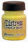 Tim Holtz Mustard Seed Distress Crackle Paint