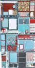N/A Paper Winter Four Layout Scrapbook Page Kit Set