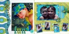 N/A Beach Fun Scrapbook Page Kit