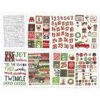 SS Very Merry 4x6 Sticker Sheet